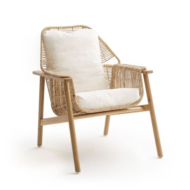fauteuil rotin tress prasine am pm maison fauteuil. Black Bedroom Furniture Sets. Home Design Ideas
