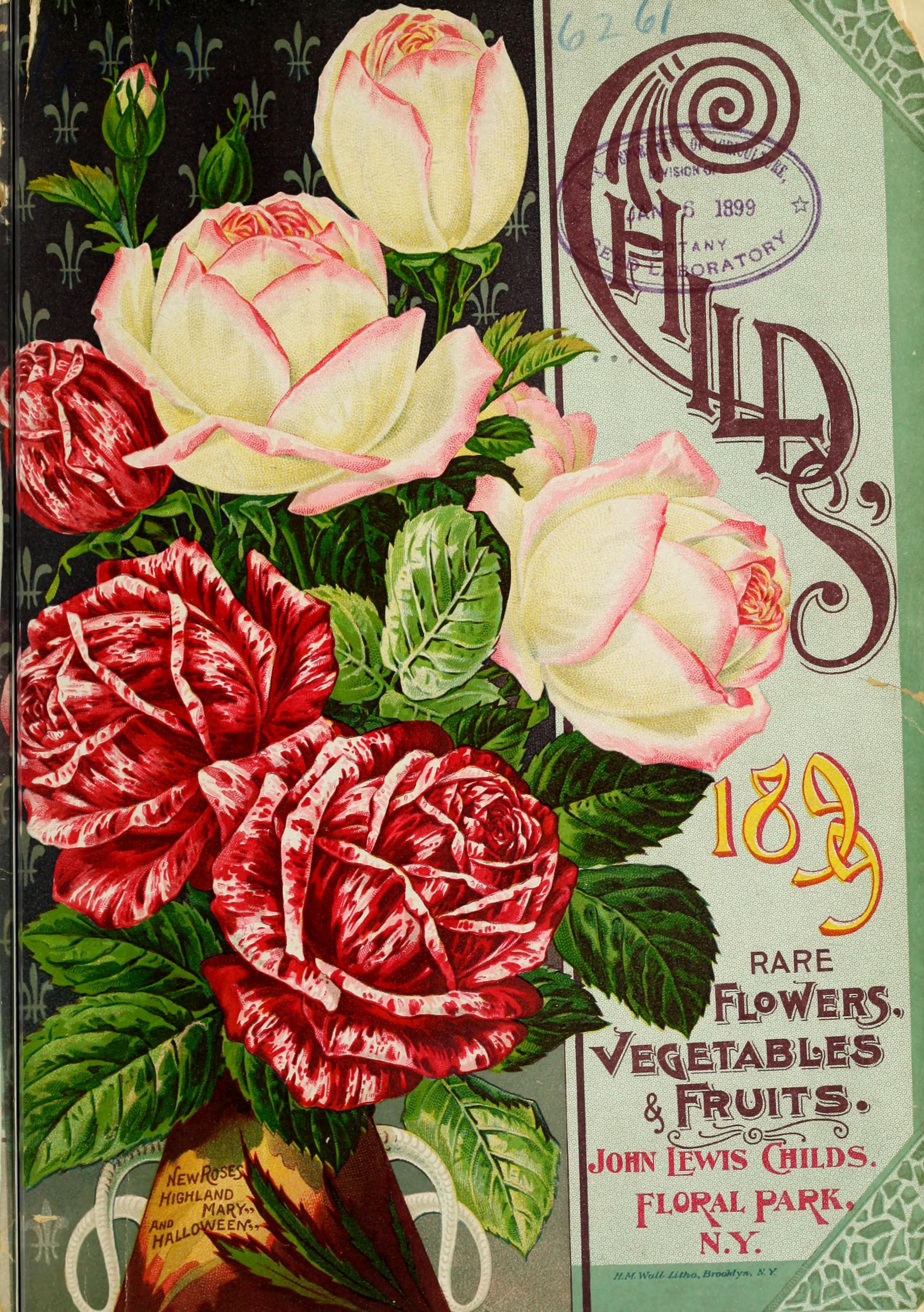 1899 Childs' rare flowers, vegetables, & fruits