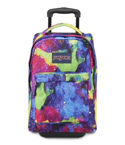 Jansport Wheeled Superbreak Backpack - Multi Neon Galaxy Available ...