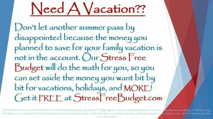 keep meaning to set money aside for a vacation or trip we have a