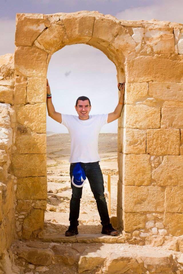 Desierto de Neyet, Israel frontera con Egipto, antiguo monasterio para cultivo de viñedos