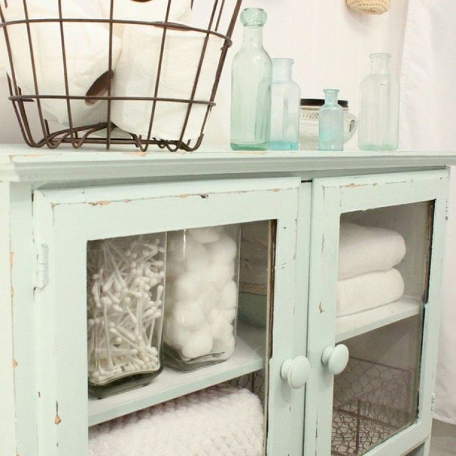 Beautiful shabby chic style bathroom decor plans you can do yourself