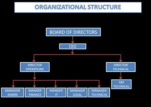 ORGANISATIONAL CHART / FLOW CHART OF COMPANY Flow, Chart and Business