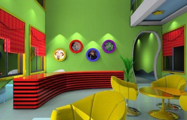 Modern ideas for kindergarten interior! interior design
