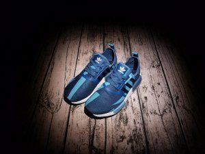 adidas NMD R1 Primeknit By1887 Core Black Gum Pack White for