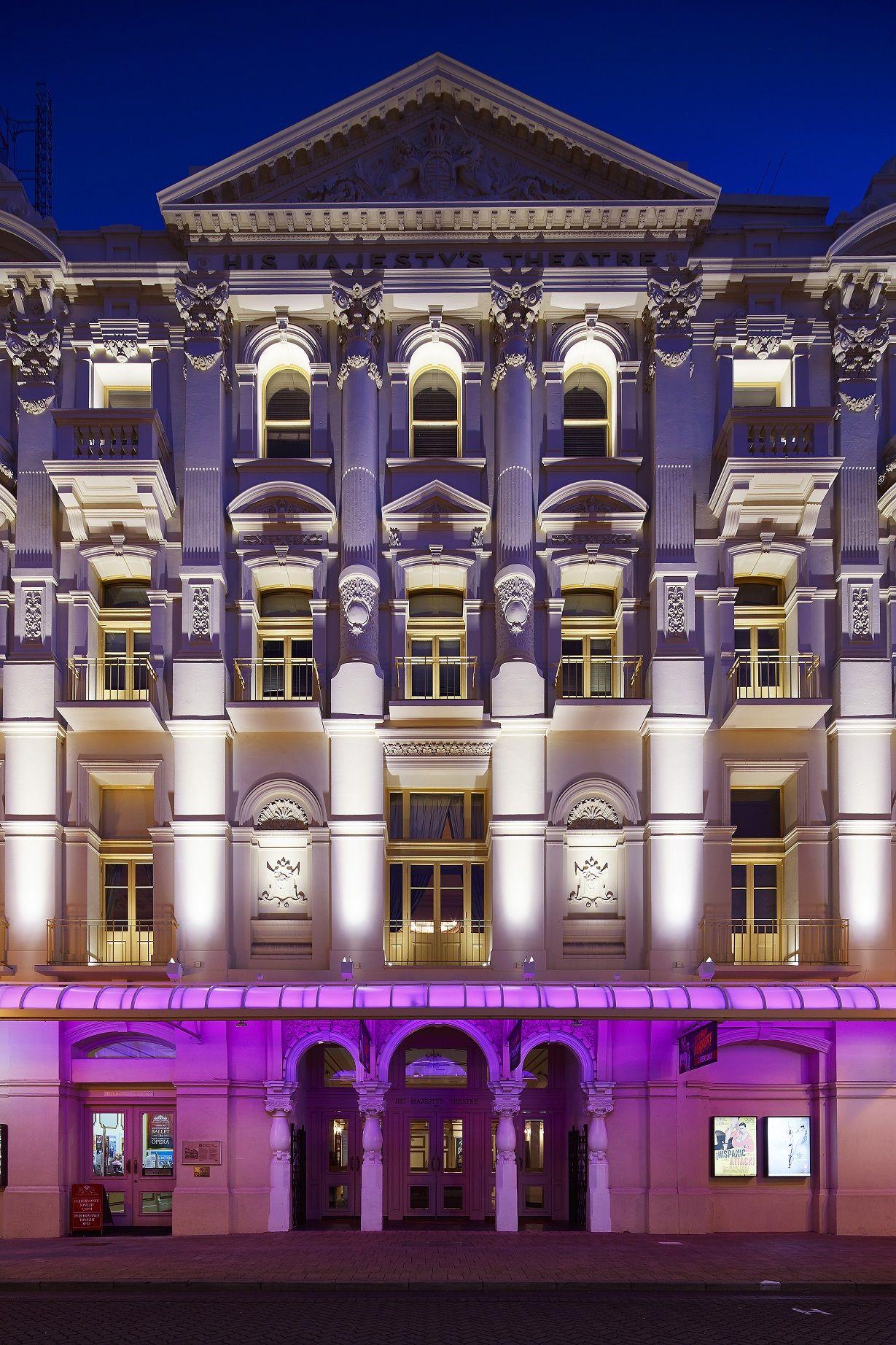 His majestys theatre perth west australia opera lighting his majestys theatre perth west australia opera lighting project martin klaasen aloadofball Gallery