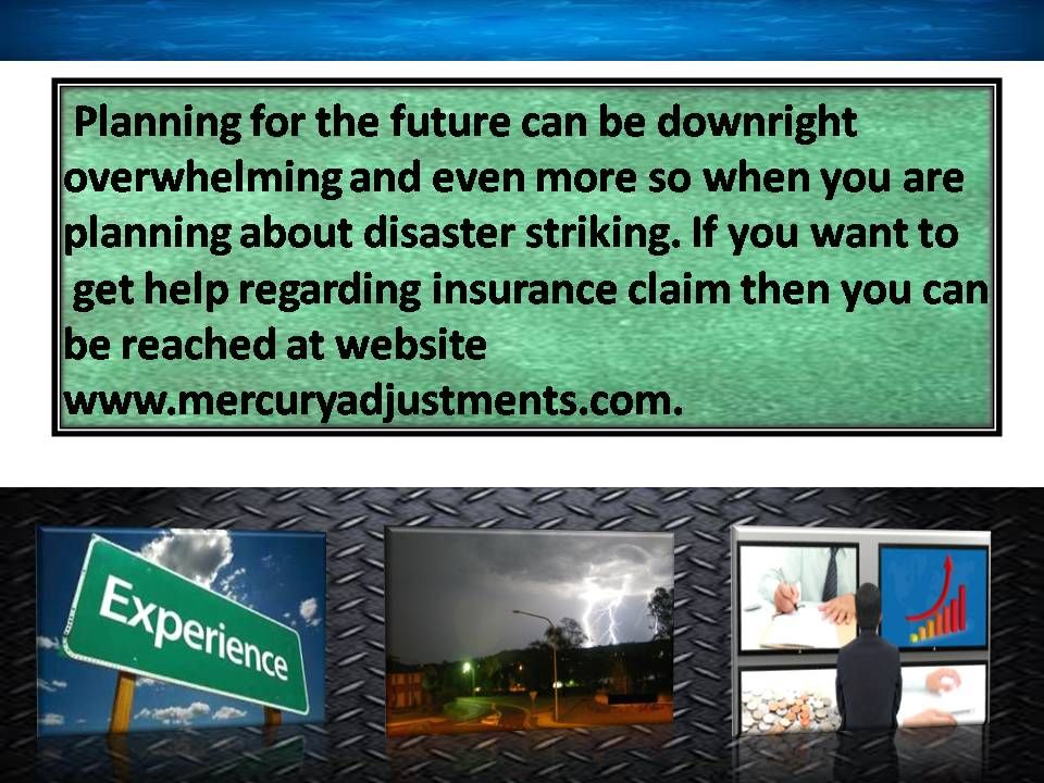 The Public Adjuster Helps You In Your Insurance Claim If You Need