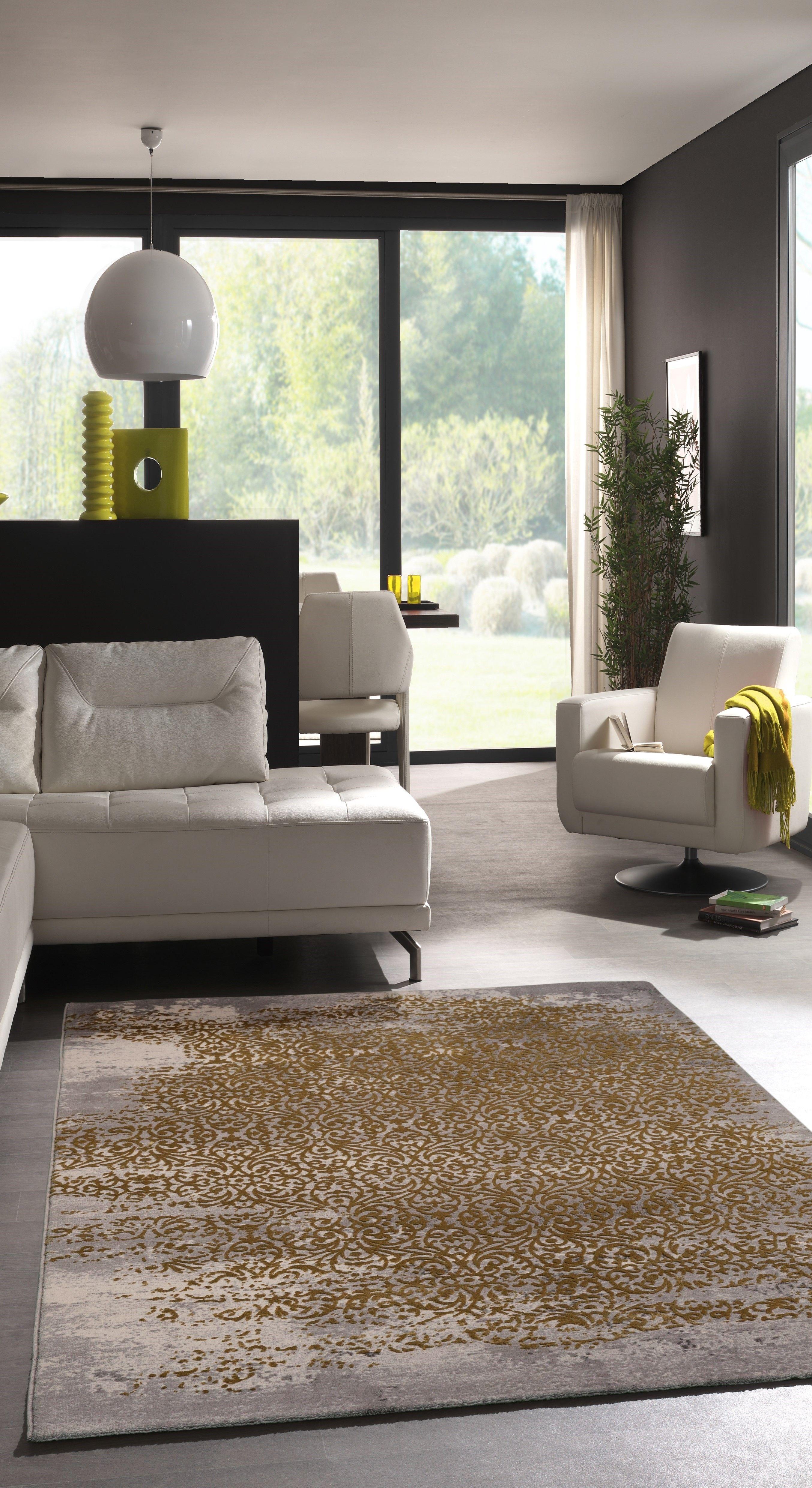 Teppich Vecchio in Beige/Grau | Wohnbereich, Teppiche und Vintage