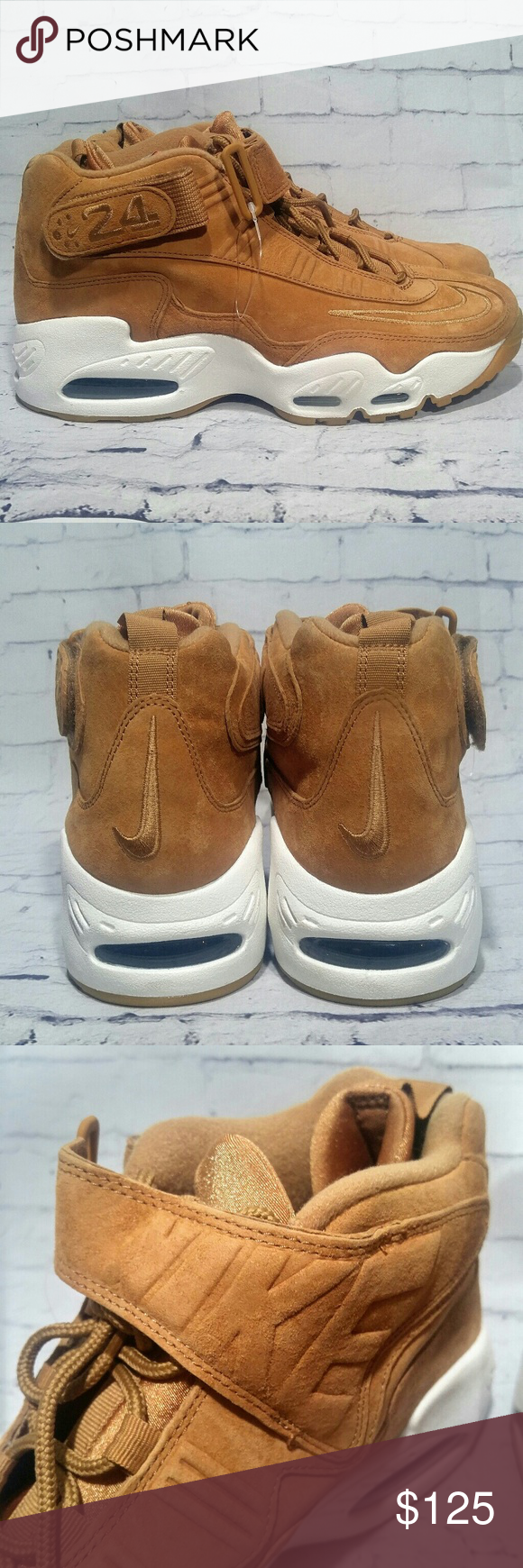 best service c9c28 f8896 Nike New Air Griffey Max 1 Shoes Wheat Flax Sail You are buying New Nike Air