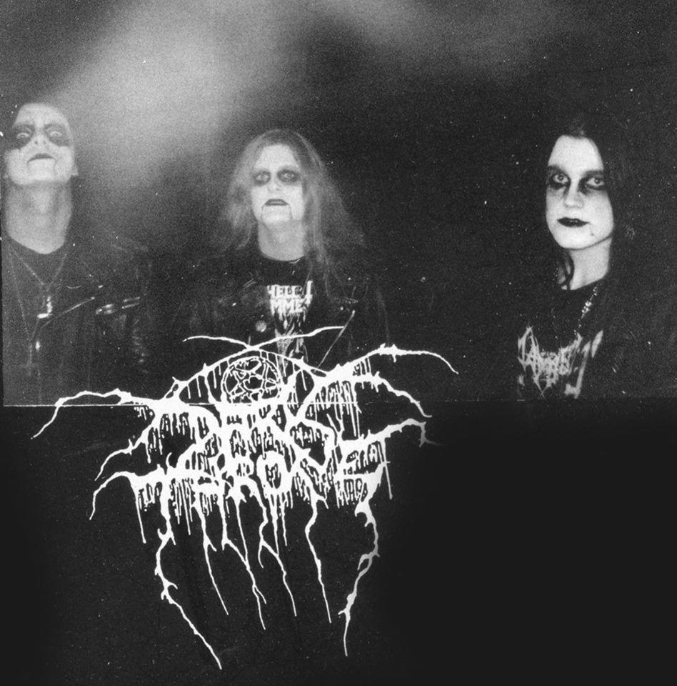 Darkthrone Promo Shot 1993.