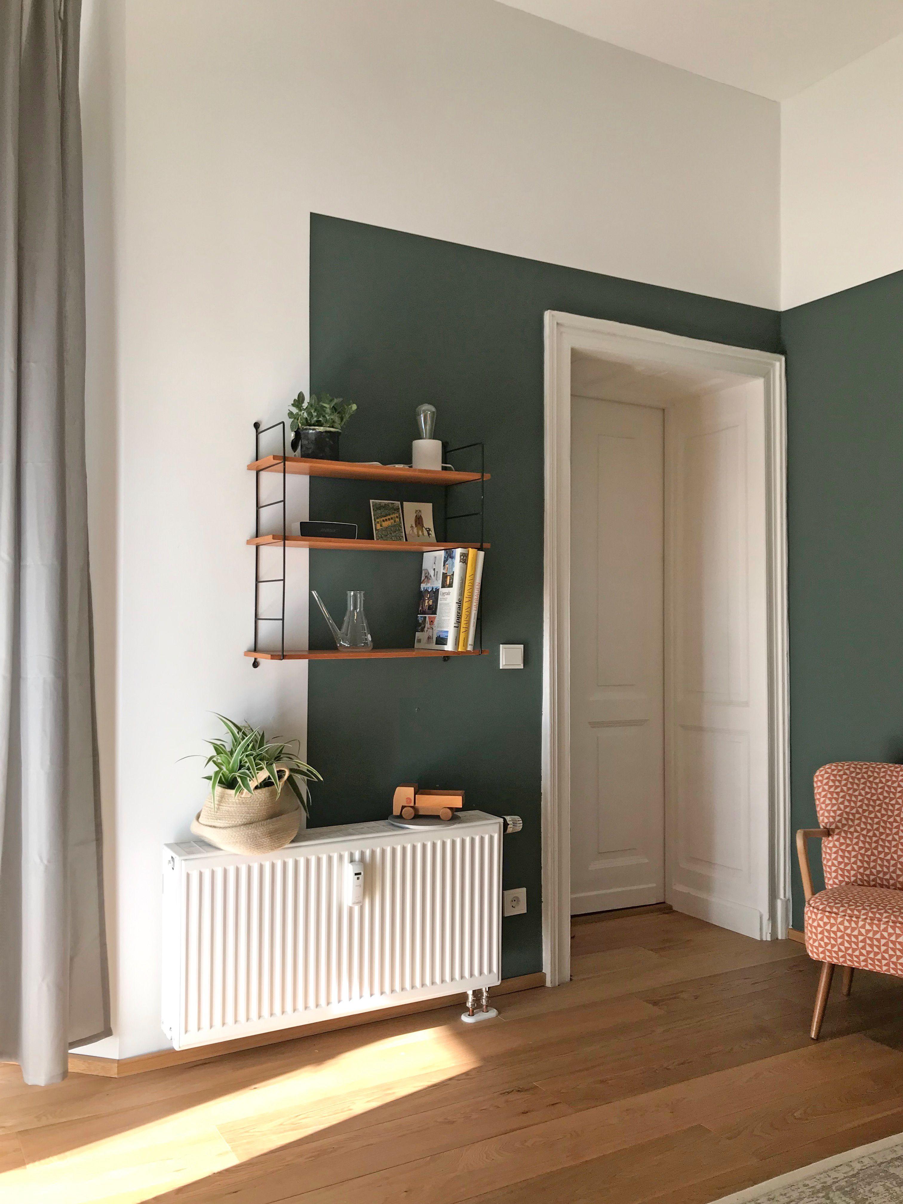 Der Farbtest Mit Kolorat Wohnung Streichen Wohnzimmer Ideen Wohnung Wohnzimmer Streichen