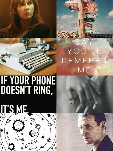 Another Donna/Nine aesthetic by me~