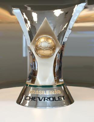 Novo troféu do Brasileirão. O troféu tem 60 cm de altura 330c2229f472f