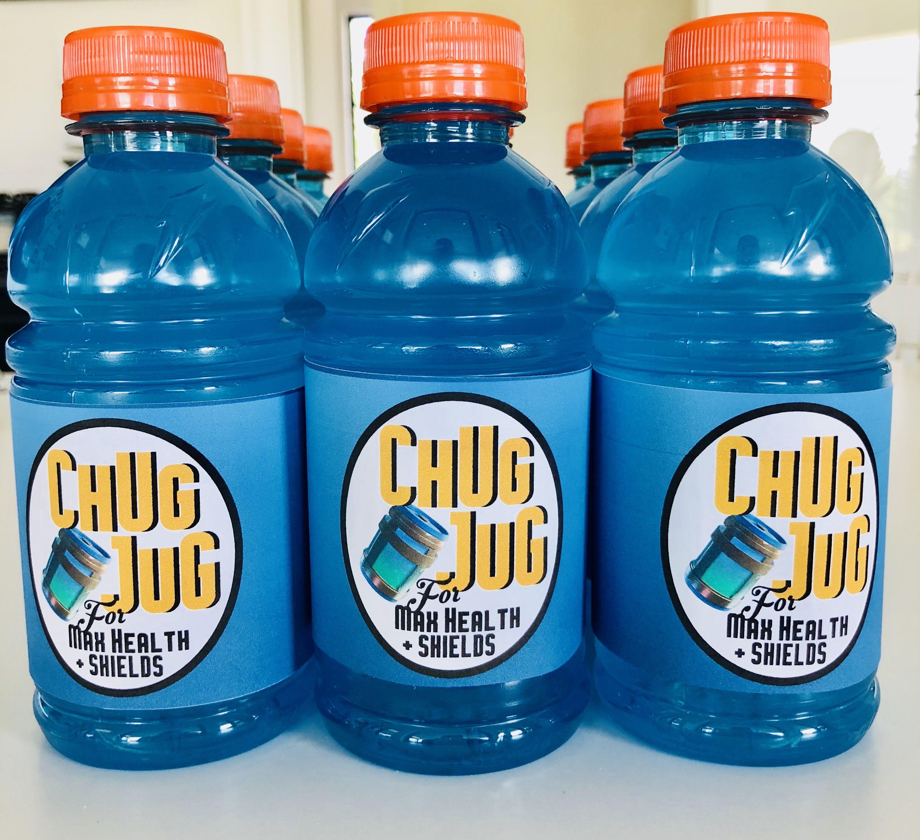 photograph relating to Chug Jug Printable known as Chug Jug printables against Etsy upon Gatorade bottles for