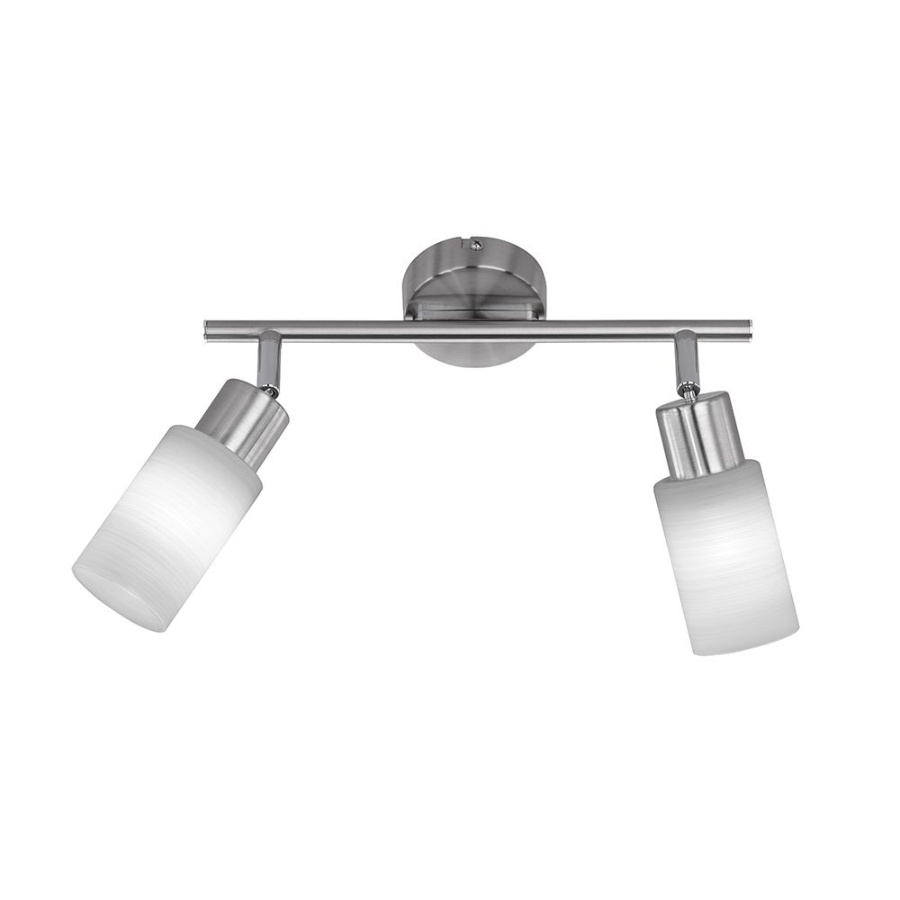 Led Balken Deckenleuchte Mit 2 Spots Frei Schwenkbar Led Balken Led Lampen