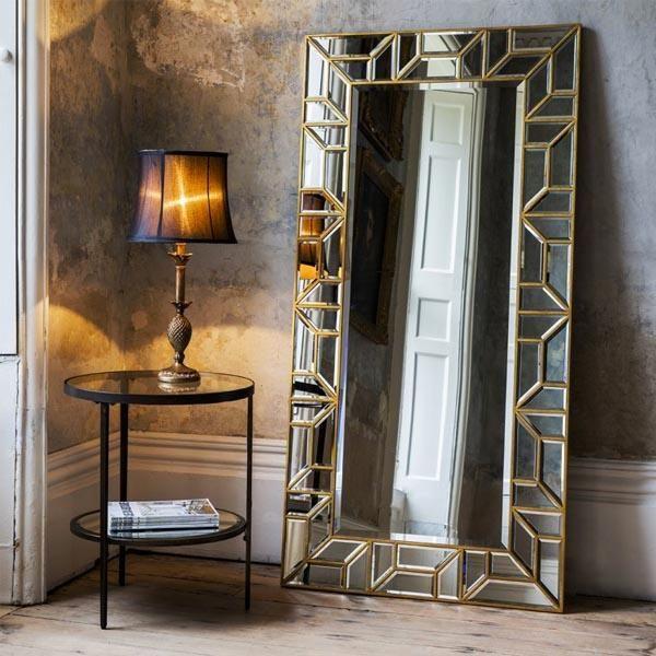 Yolanda Leaner Floor Mirror | Floor mirror, Floor standing mirror ...