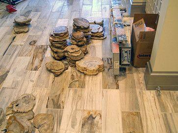 Petrified Wood Tile 6 X18 Park City