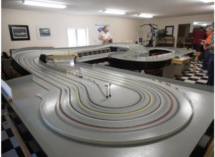 Triathlon At Electron Raceway On 8 1 16 Electron Race Reports Slot Car Tracks Slot Car Racing Slot Racing