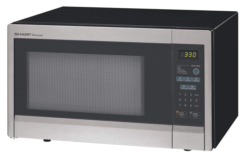Sharp Stainless Steel Consumer Microwave Oven 1 10 Cu Ft 120v