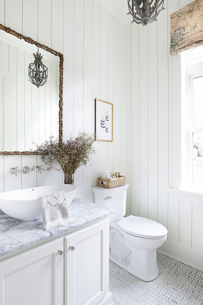 Vertical Shiplap Bathroom With VerticalShiplap