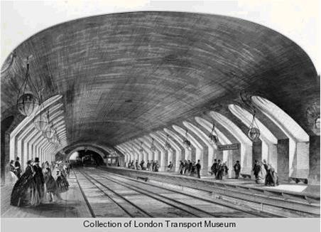 First opening day at Baker Street station, Jan. 10, 1863 | London  underground, Underground, Baker street