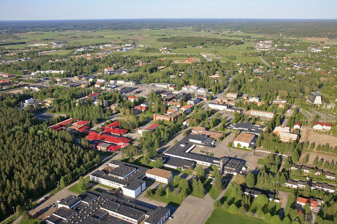 Kauhajoki Finland Suomi Kulttuuri Kartta