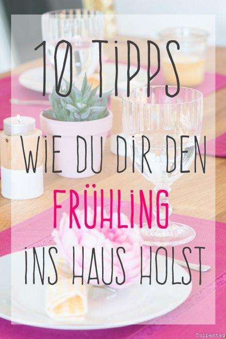 10 tipps wie du dir den fr hling in die wohnung holst for Dachgeschosswohnung dekorieren