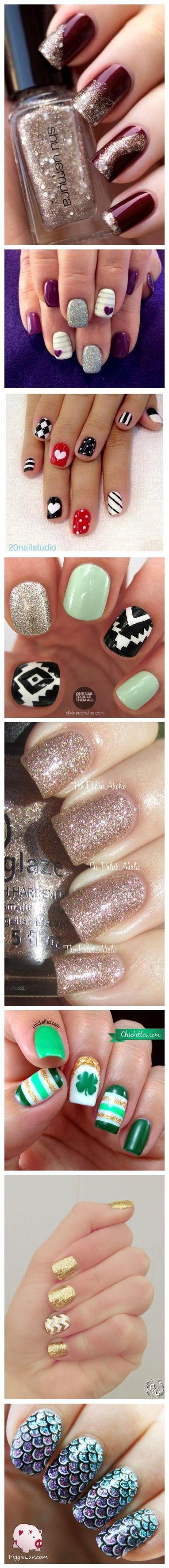 Nail art designs get creative nails pinterest nail art