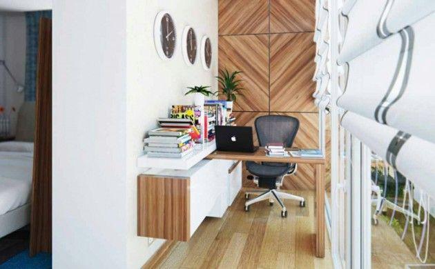 Kleines Arbeitszimmer ~ Homeoffice kleines büro einrichten kreative terrassengestaltung