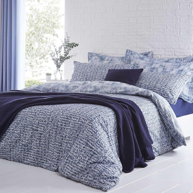 Best Elements Aaron Navy Bed Linen Collection Dunelm Bed Linens Luxury Navy Bedding 400 x 300