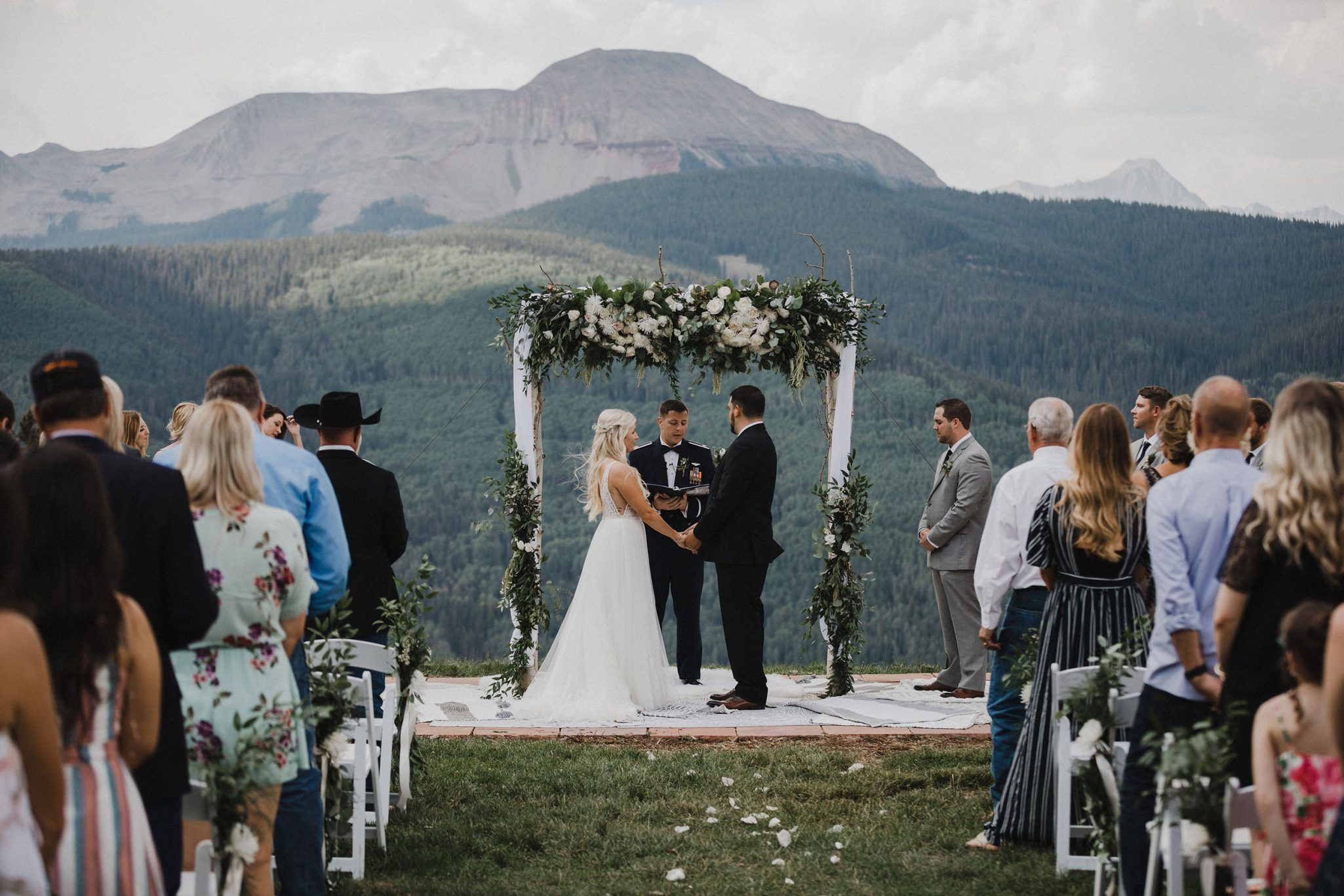 A Floral Filled Mountain Wedding At Purg Affordable Wedding