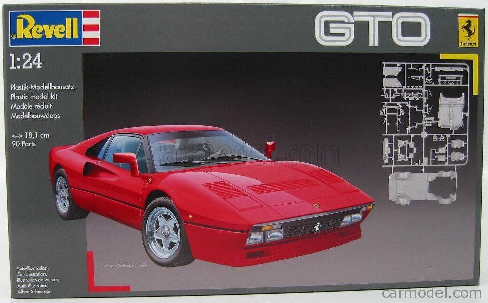 Revell Ferrari Gto 288 7326 Plastic Model Kits Gto Revell