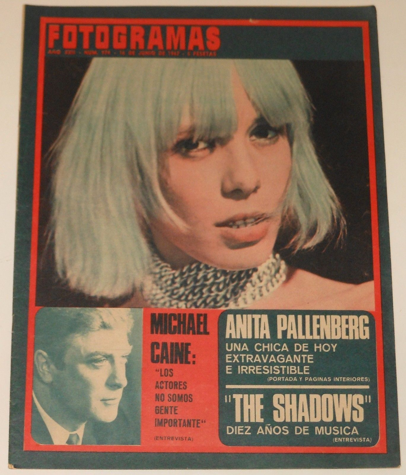 Anita Pallenberg - Fotogramas (Spain) #974; 1967 (1)