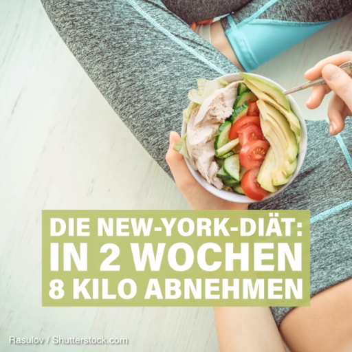 Die New-York-Diät: 6 Kilo in 2 Wochen