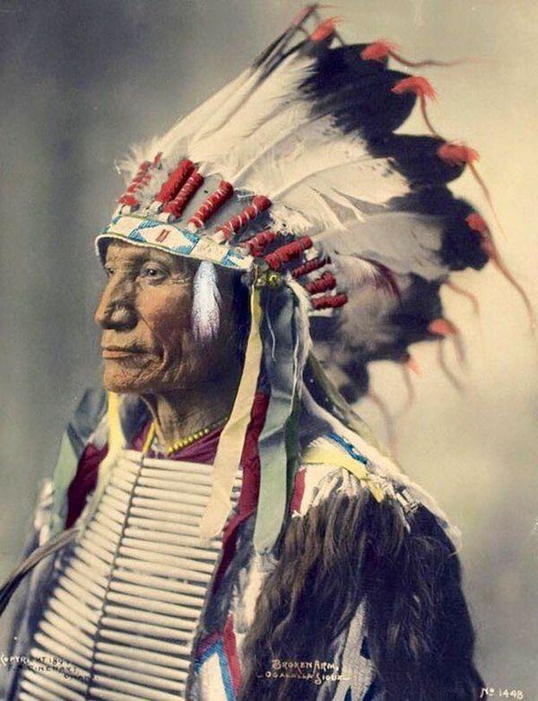 インディアン(ネイティブ・アメリカン)の貴重なカラー化写真 ...