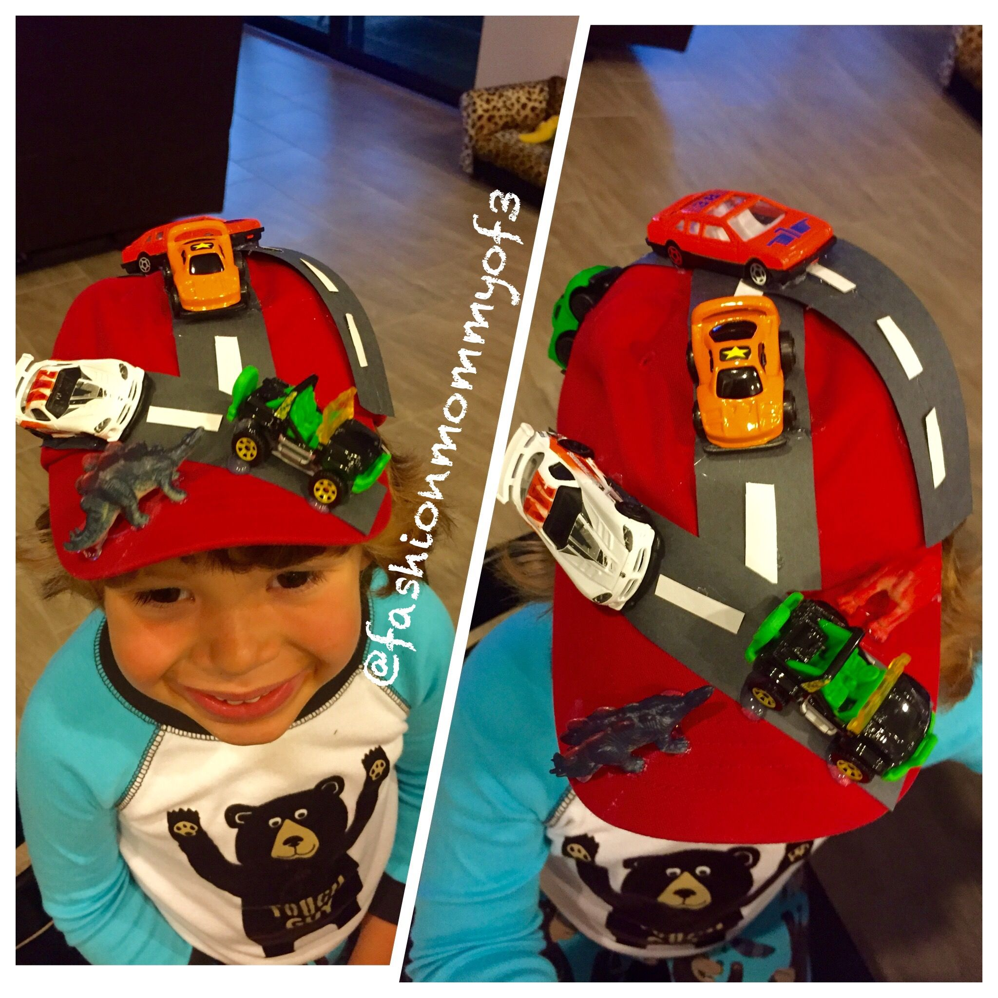 Crazy Hat Craft Ideas: Silly Hat Day Car Race Way
