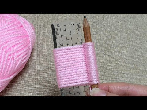 Photo of Awesome Flower Craft Ideas with Woolen – Hand Embroidery Trick – Sewing Hack – Easy Wool Flower