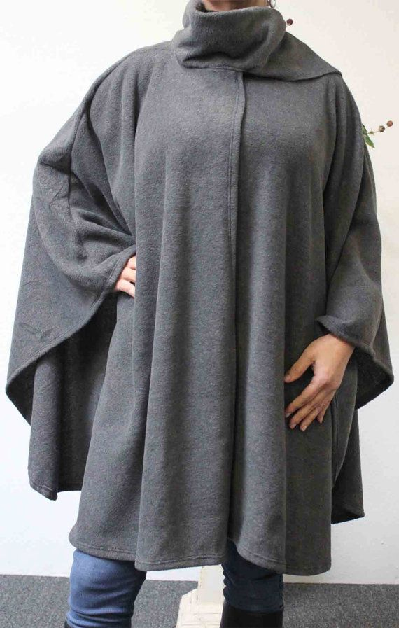 0fcb503a3d2 Ultimate Travelers Full Size Plus Size Poncho Cape for Everyone. Warm