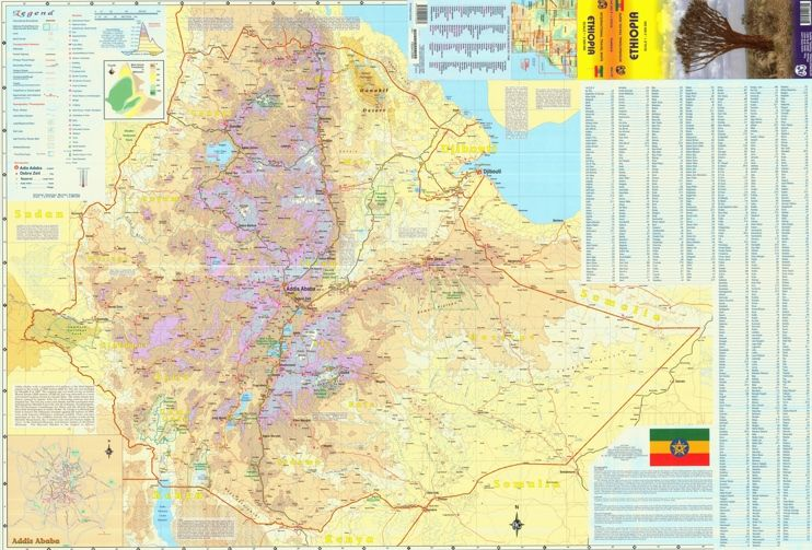 Where Is Ethiopia in Africa Ethiopia Elevation Map - Ethiopia - new ethiopian plateau on world map