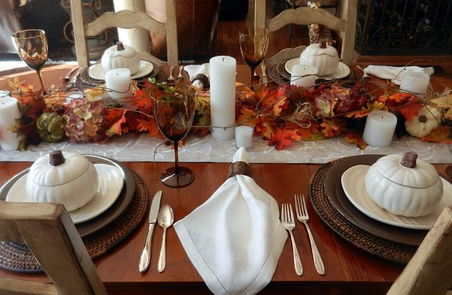 A Perfect Setting: A Setting for Fall