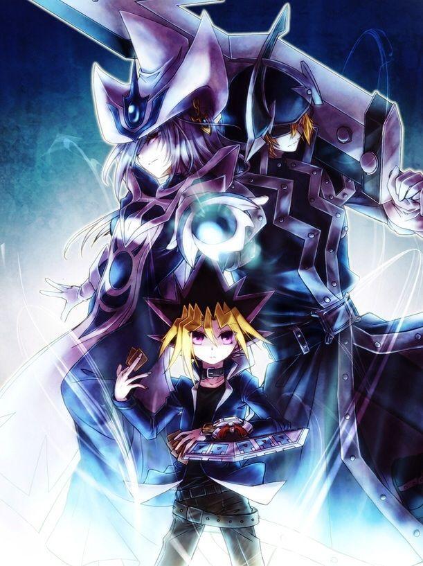 遊戯王 Silent Magician, Silent Swordsman and Yugi Muto