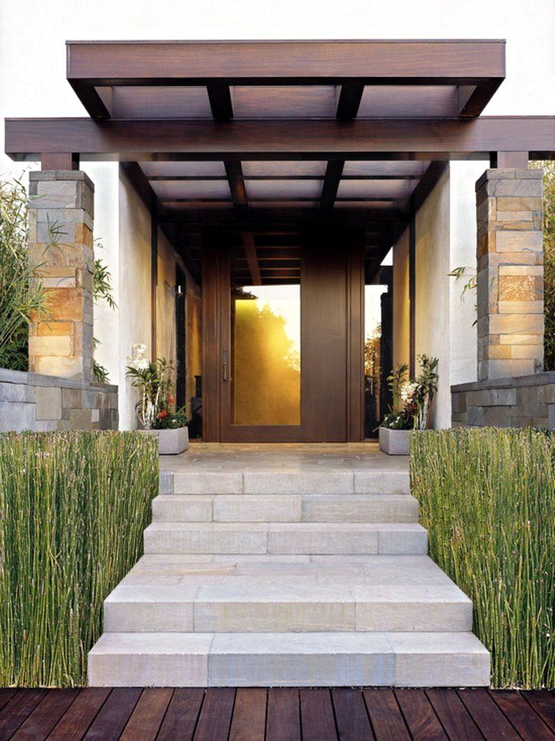 Modern Dream House Design Featuring Brown Cream Modern House
