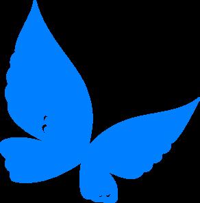 blue butterfly clip art vector clip art online royalty free rh pinterest com blue butterfly flying clipart blue butterfly clipart images