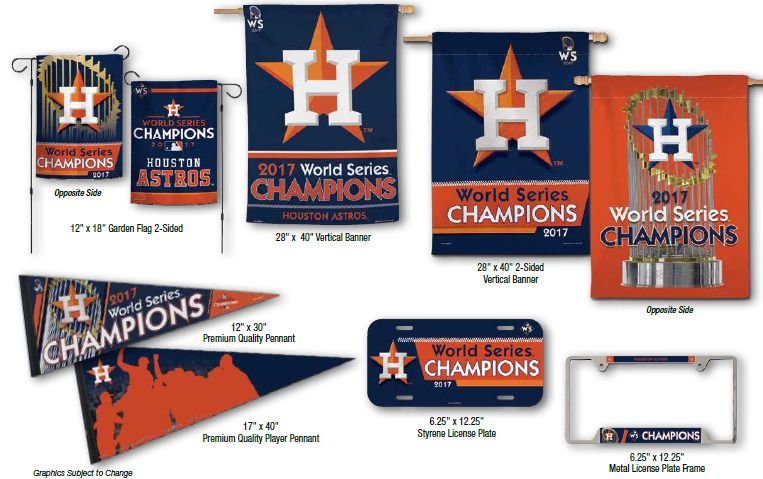 classic fit 536ff abcf7 2017 World Series Champion Merchandise Houston Astros ...