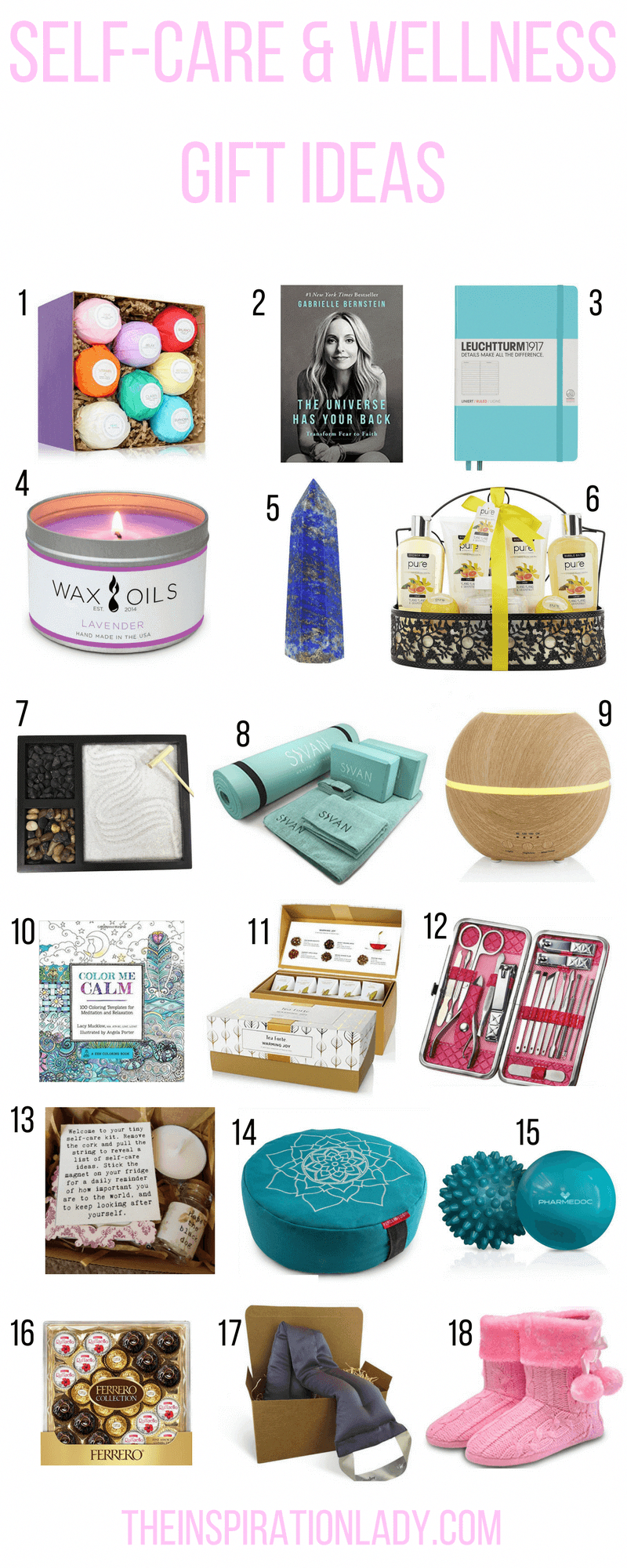 22 Self-Care and Wellness Gift Ideas