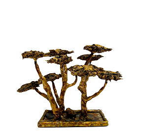 Brass Bonsai Trees From Malachite Tree Malachite Bonsai Tree Candle Holders