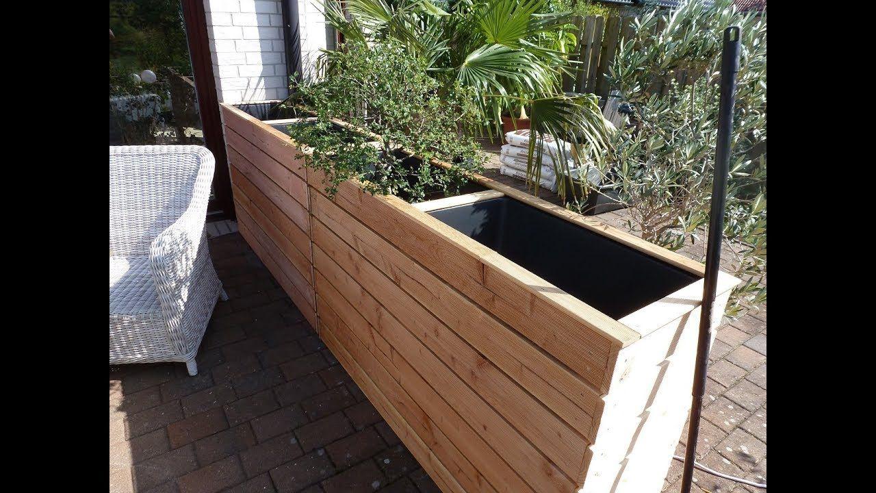Hochbeet Als Windschutz Oder Sichtschutz Fur Terasse Und Garten