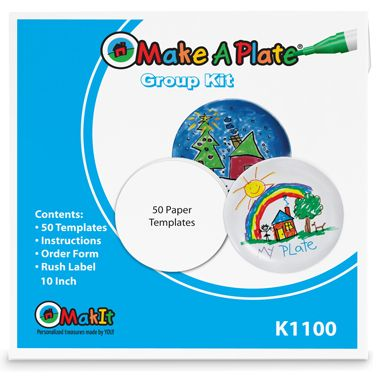 The Original Make A Plate - Personalized Melamine - Product Detail - Make A Plate® Classroom/Group Kit  sc 1 st  Pinterest & The Original Make A Plate - Personalized Melamine - Create Your Own ...