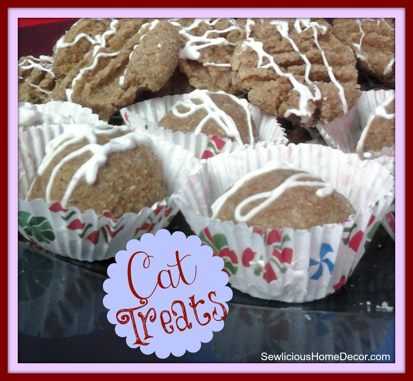Holiday Cookie Treats for Cats recipe! Cat treats