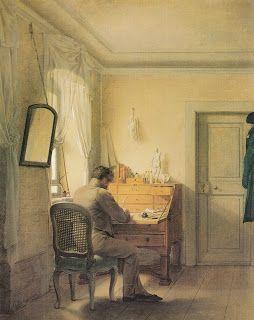 A Young Knight Travel: Georg Friedrich Kersting: habitaciones con vistas